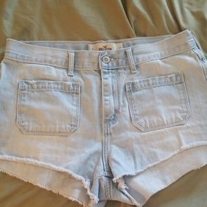Hollister classic front pocket Jean shorts